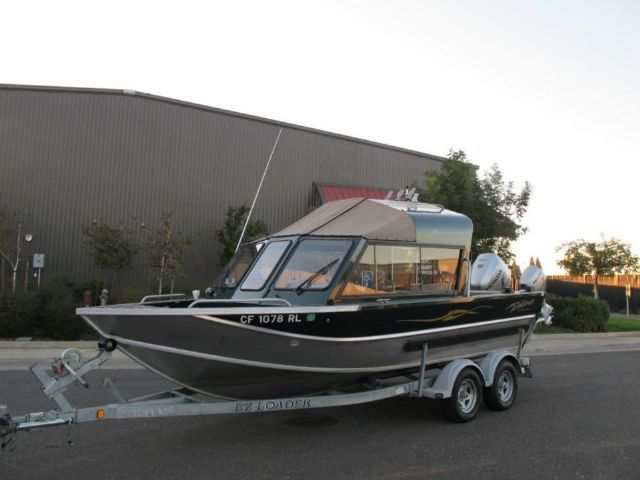 21 Feet 2006 Weldcraft Maverick 201 DV Fish And Ski GREEN Miles For Sale In ORTING