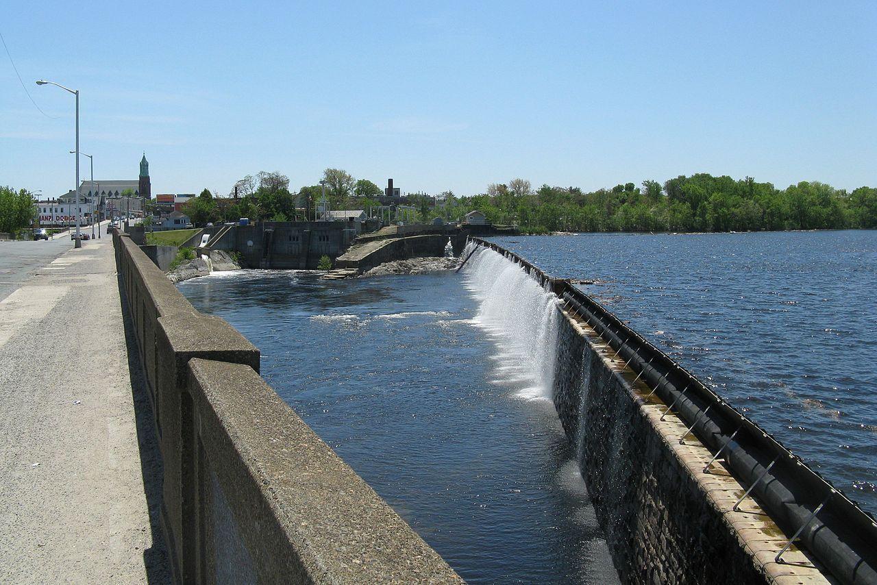 Great Stone Dam in Lawrence, Massachusetts.