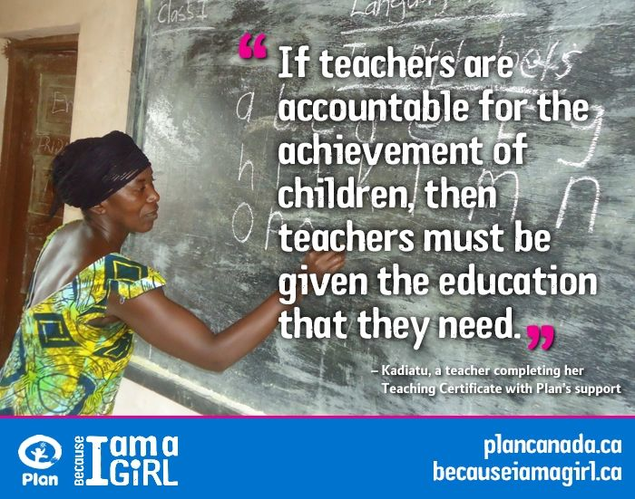 In Sierra Leone Many Teachers Like Kadiatu Mansaray Do Not Receive Any Formal Training But Through A Dis Teaching Certification Nobel Peace Prize Education