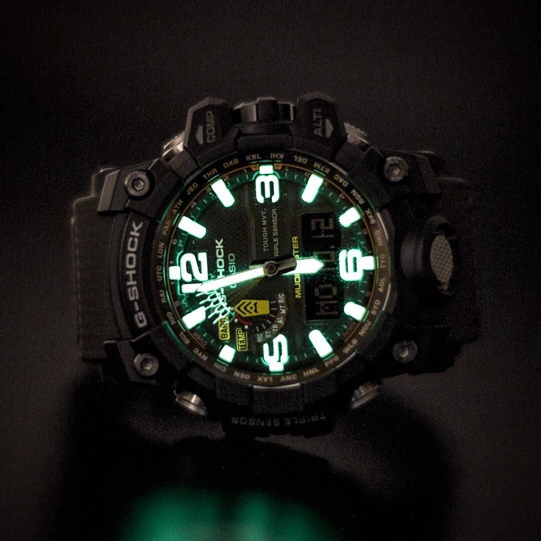 G-shock Uhren Günstig Kaufen Neo Brite Luminous Action With The Mudmaster Ziel In 2019