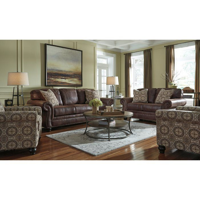 Best Conesville Sofa Cheap Living Room Sets Brown Living 640 x 480