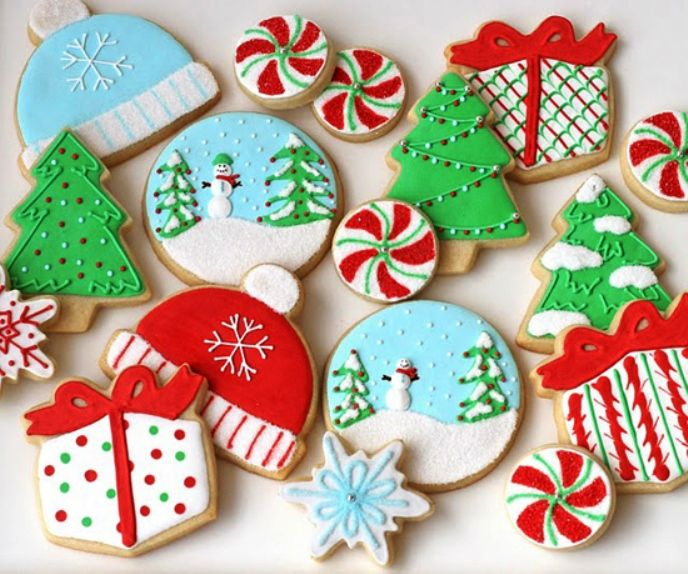 holiday cookie decorating ideas