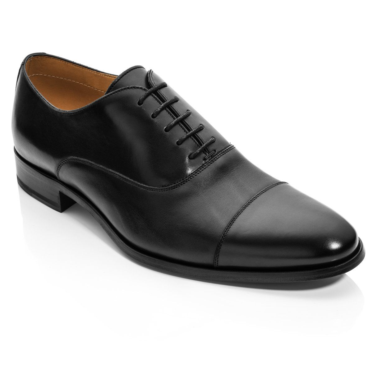 Forley Black Dress Shoes Men To Boot New York Dress Shoes [ 1200 x 1200 Pixel ]