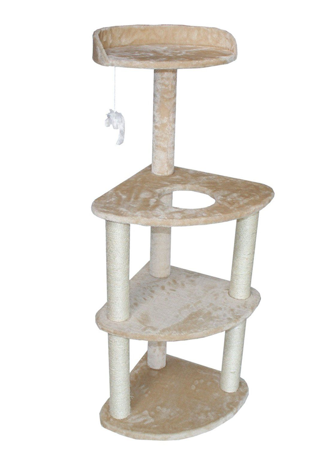 Nice Cat Tree Tower Condo Furniture Scratch Post Kitty Pet House Play  Furniture Muli Level Sisal Pole (Beige) By HIDING U003eu003eu003e Discover This Special  Cat ...