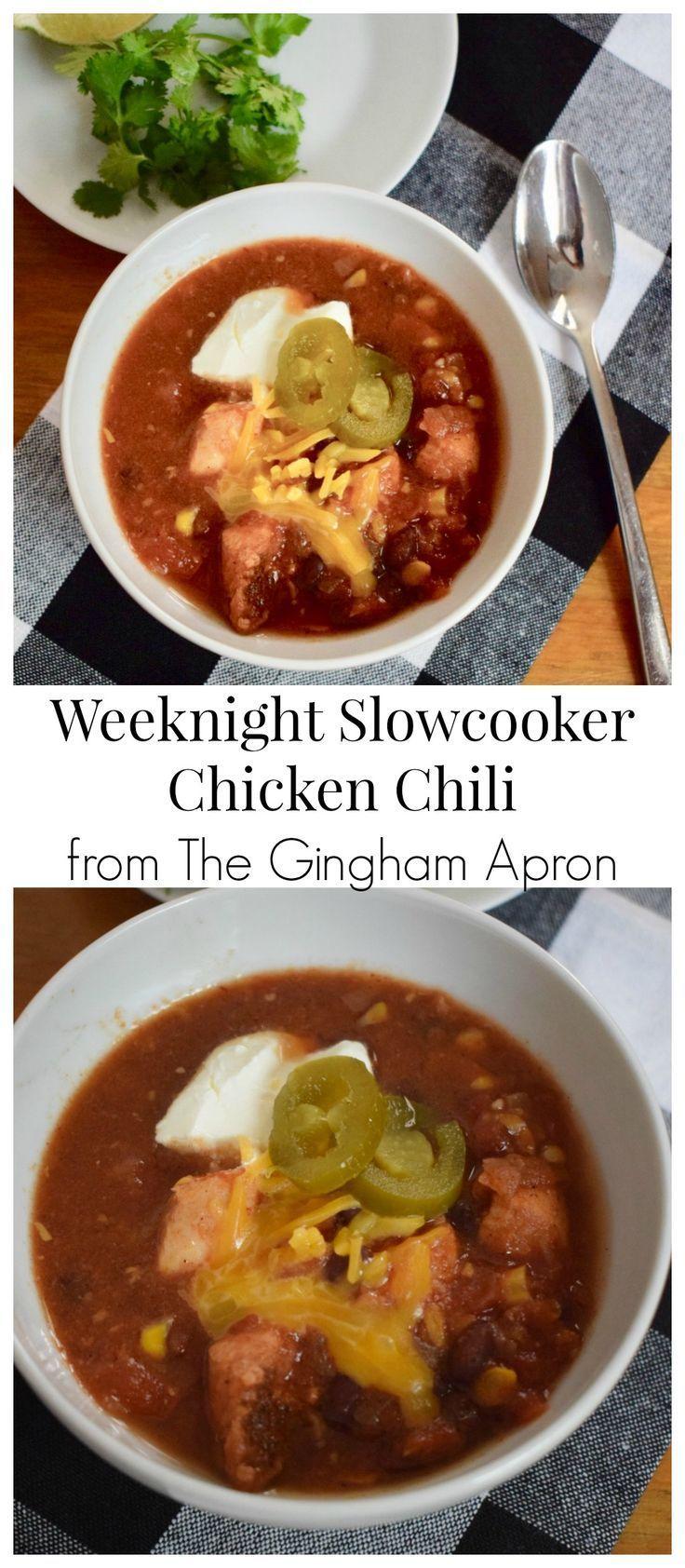crockpot recipes chicken chili
