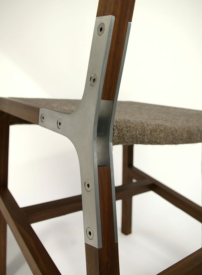 Slick design. >>> 1.2 Chair by Urbancase http://www.urbancase.com/