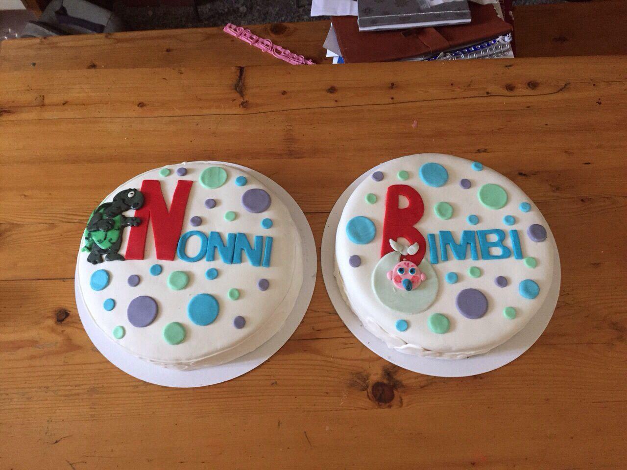 Le torte per Il giorno dell'inaugurazione
