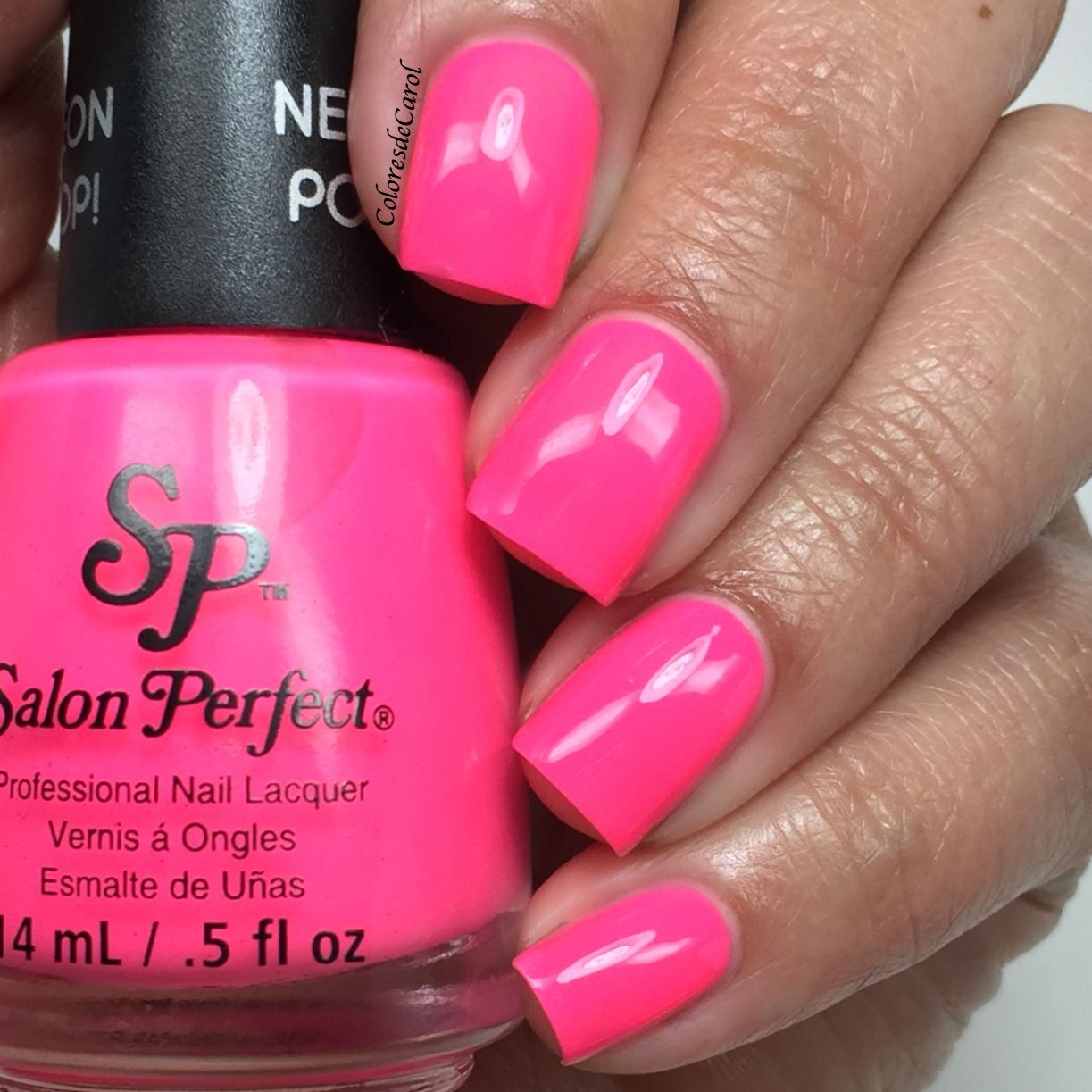 Colores de Carol swatch of Salon Perfect: ☆ Wrapped Around My Pink ...