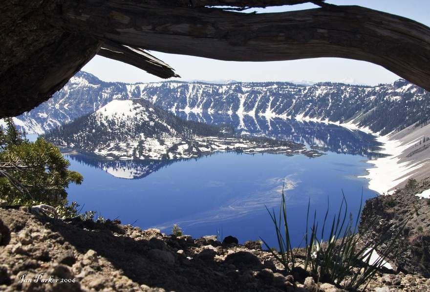 Crater Lake, Oregon..