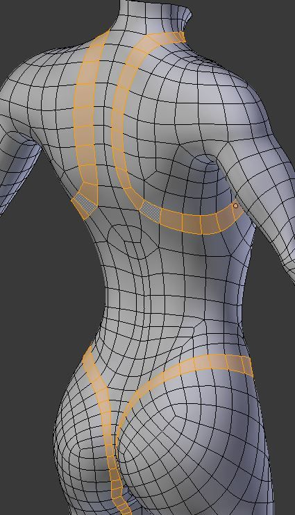 Blender Character Modeling Guide : London fischer guide to making our model polycount