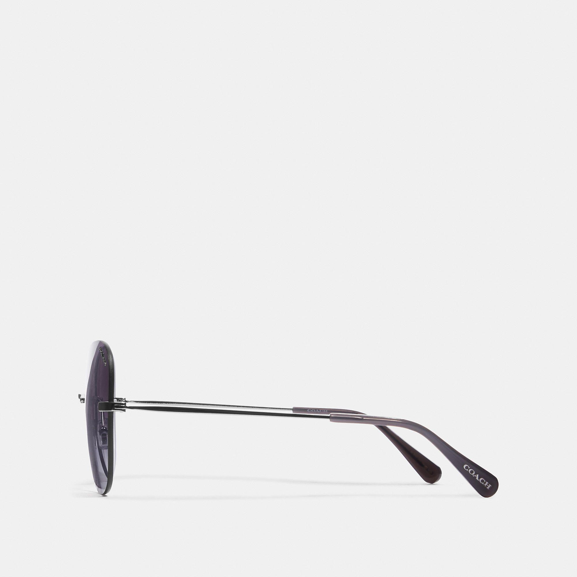 f7b7227ba6 COACH Rimless Lens Applique Sunglasses - Women's Sunwear in 2019 ...