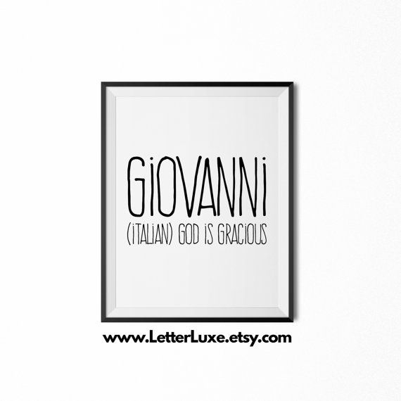 Giovanni printable kids gift name meaning by letterluxeprintables harrison printable kids gift last name meaning art baby shower gift nursery art digital print nursery decor typography wall negle Gallery