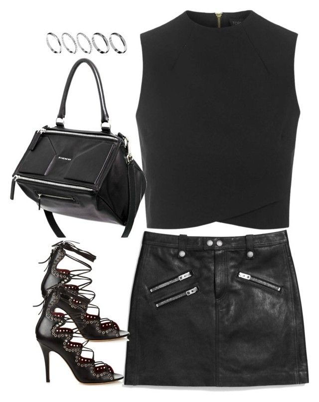 """Untitled#3712"" by fashionnfacts ❤ liked on Polyvore featuring Coach, Topshop, Isabel Marant, Givenchy and ASOS"