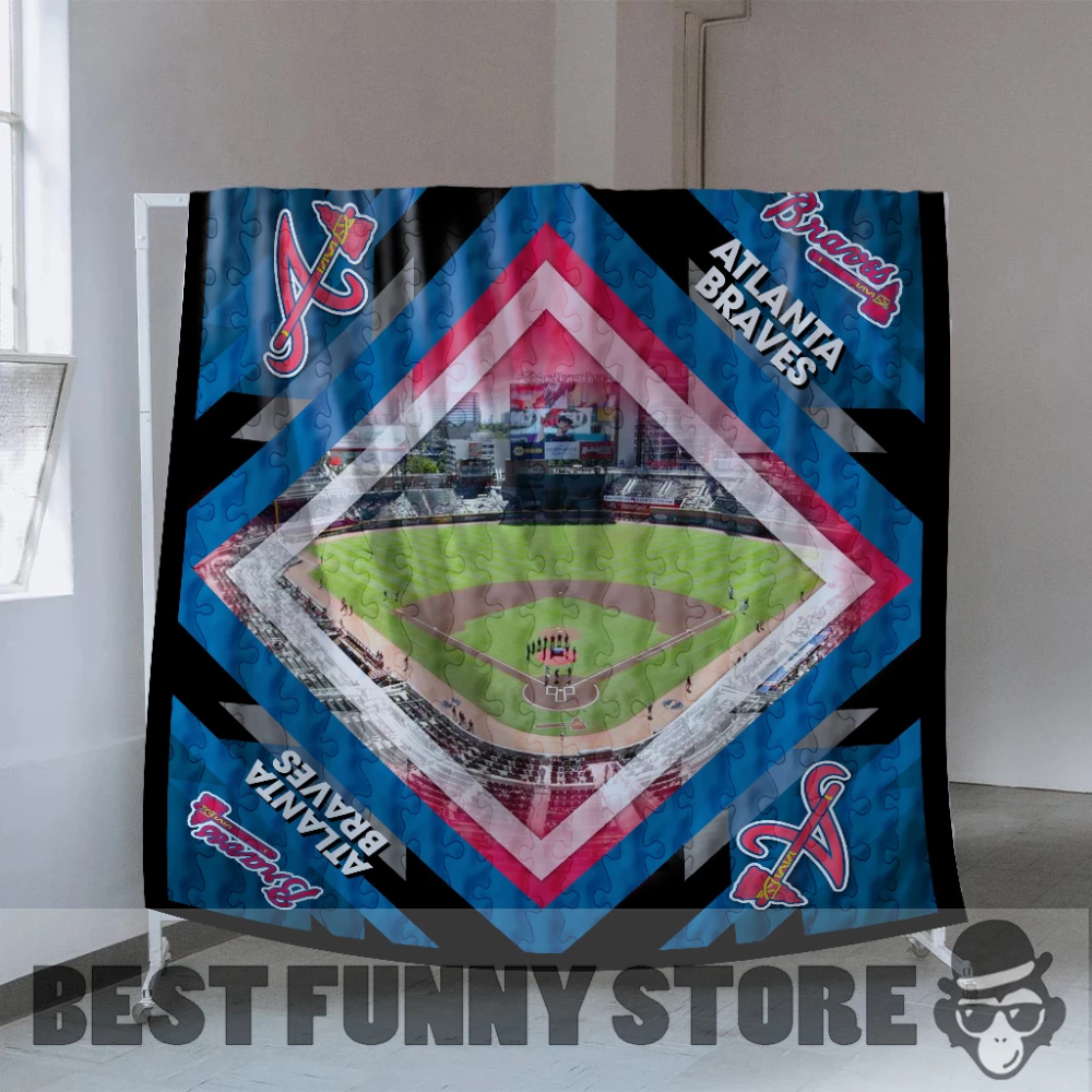 Pro Atlanta Braves Stadium Quilt For Fan Best Funny Store