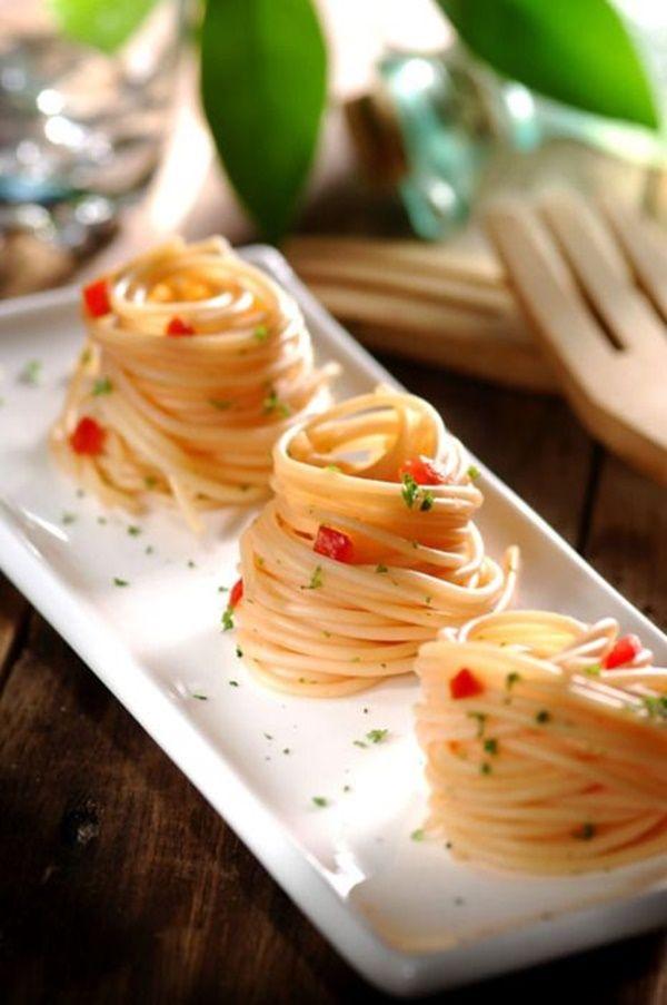 75 Smart and Creative Food Presentation Ideas   Cheff, Bocadillos y ...