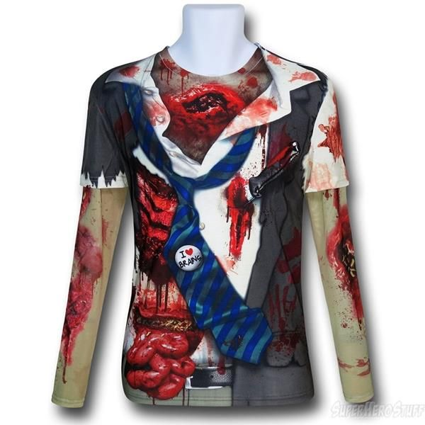 Super quick Halloween costumes Zombie T-shirts Quick halloween - zombie halloween ideas