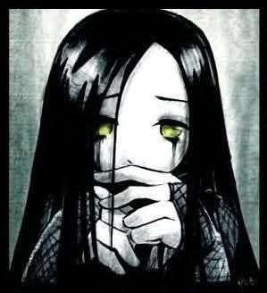 sad emo girl anime cute depressed tears crying pictures sad emo