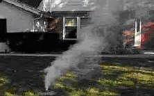 Smoke testing sewer