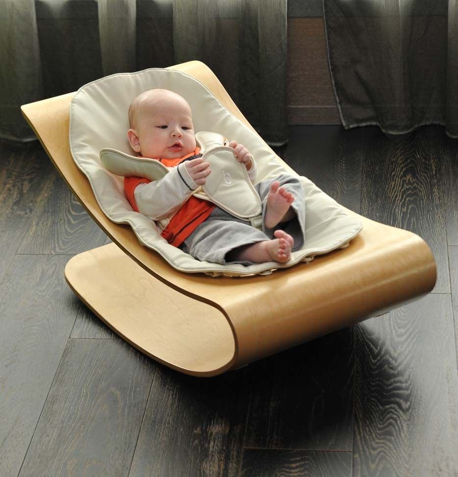 coco stylewood  baby lounger  bloom has a smooth selfrocking  - coco stylewood  baby lounger  bloom has a smooth selfrocking motionnaturally