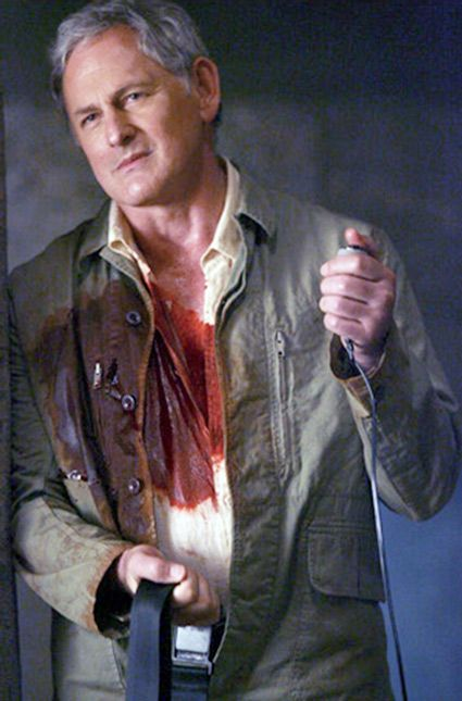 victor garber as jack bristow in the last episode of