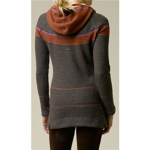 prAna Caitlyn Tunic Sweater - Hooded, Wool Blend (For Women ...