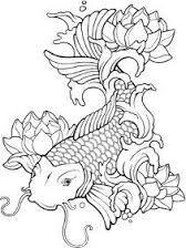 Coloriage Carpe Koi Recherche Google Fish Coloring Page Koi