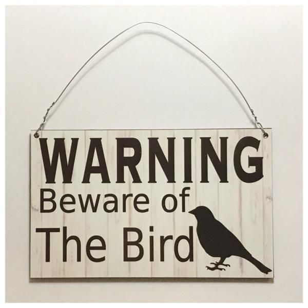 Engraved wooden wall plaque//sign Beware Of The Ferret