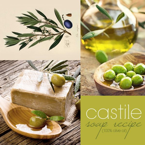 Castile Soap (100% Olive Oil)