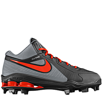 pick up b6e67 3f62f ... Baseball Cleats Just customized and ordered this Nike Shox MVP Elite 3  4 MCS iD (Wide) ...