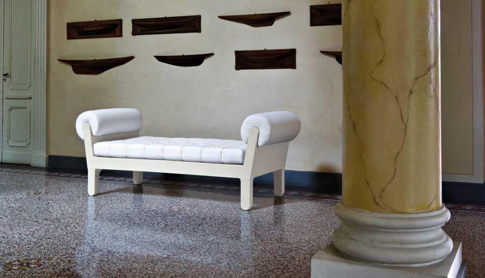 Küchenbank weiß ~ Sitzbank daybed belle etoile serralunga weiß versch farben