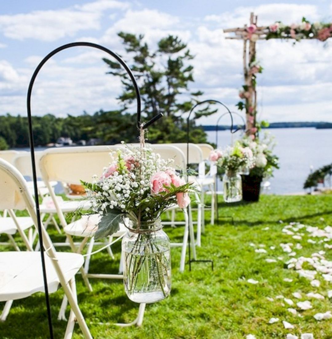 Garden wedding decoration ideas  Best  Summer Outdoor Wedding Decorations Ideas   Outdoor