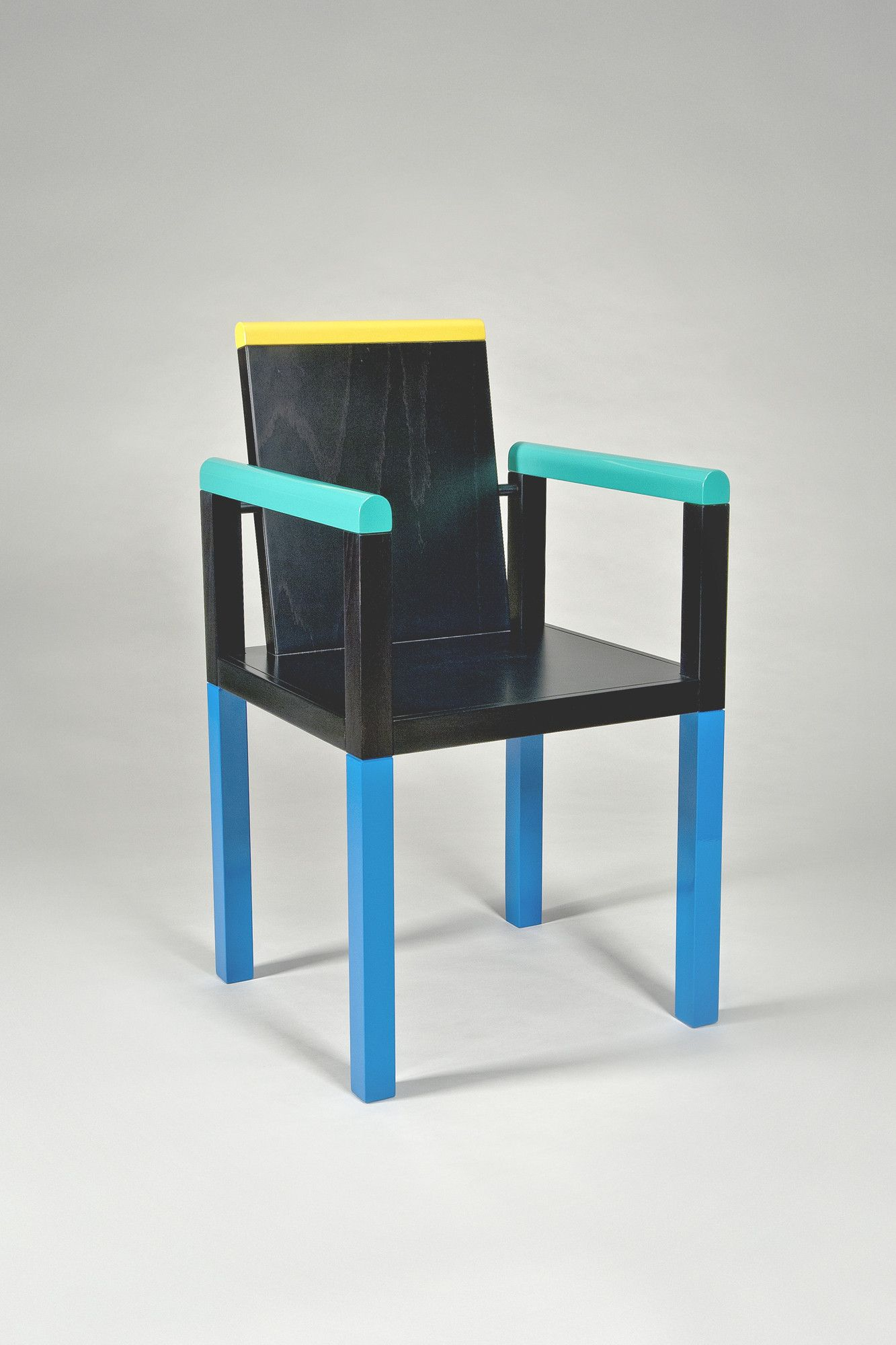 Palace chair by george sowden for memphis