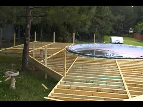 Above Ground Pool Deck Framing Hqdefault Jpg For The Home