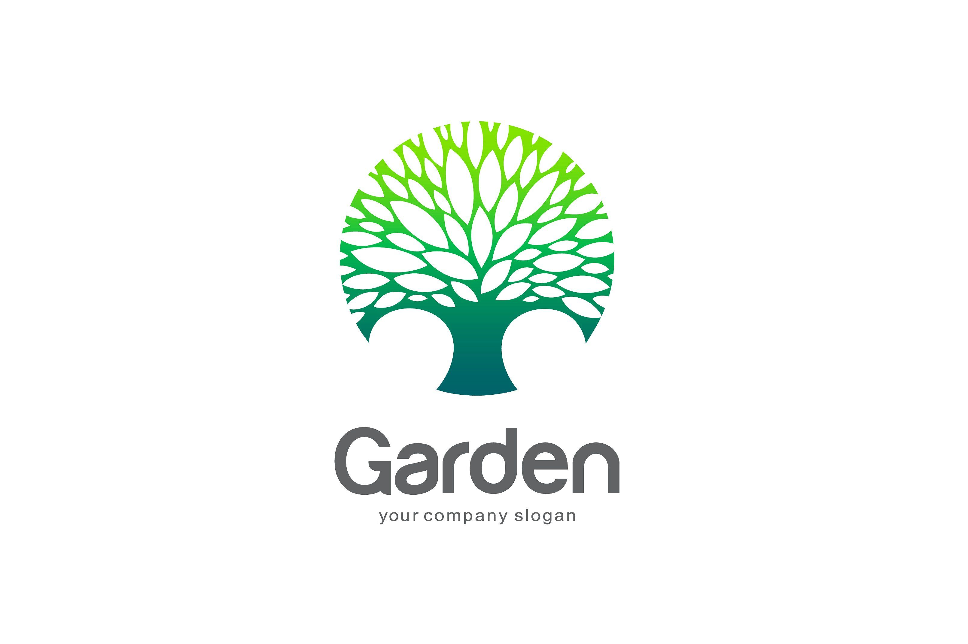 Garden Logo Logos, Vector logo, Logo templates