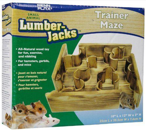 Penn Plax Lumber Jack Trainer Maze Penn Plax Http Www Amazon Com Dp B005d4ni8e Ref Cm Sw R Pi Dp Wacsxb1bxk75w Hamster Cool Hamster Cages Kids Entertainment