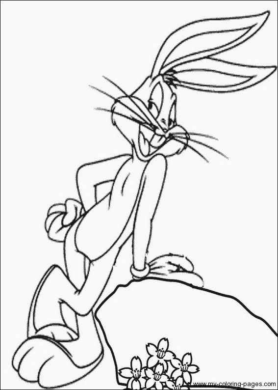 bugs bunny coloring pages bugs bunny coloring pages