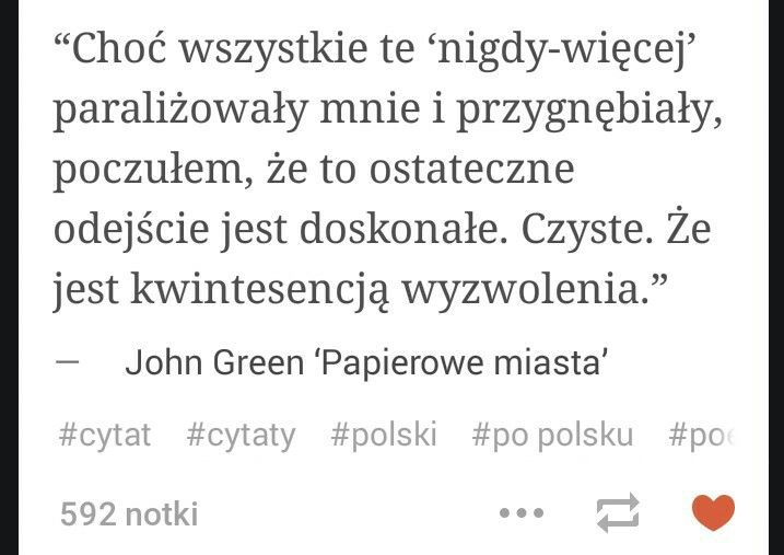 Paper Towns Cytaty