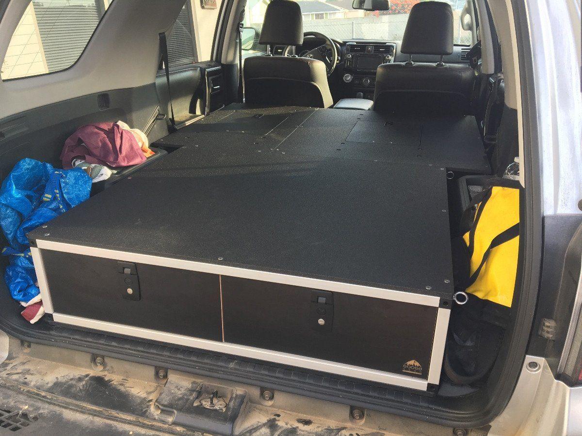 4Runner Seat Covers >> Toyota 4Runner 5th Gen Sleeping Platform Drivers Side 60% ...