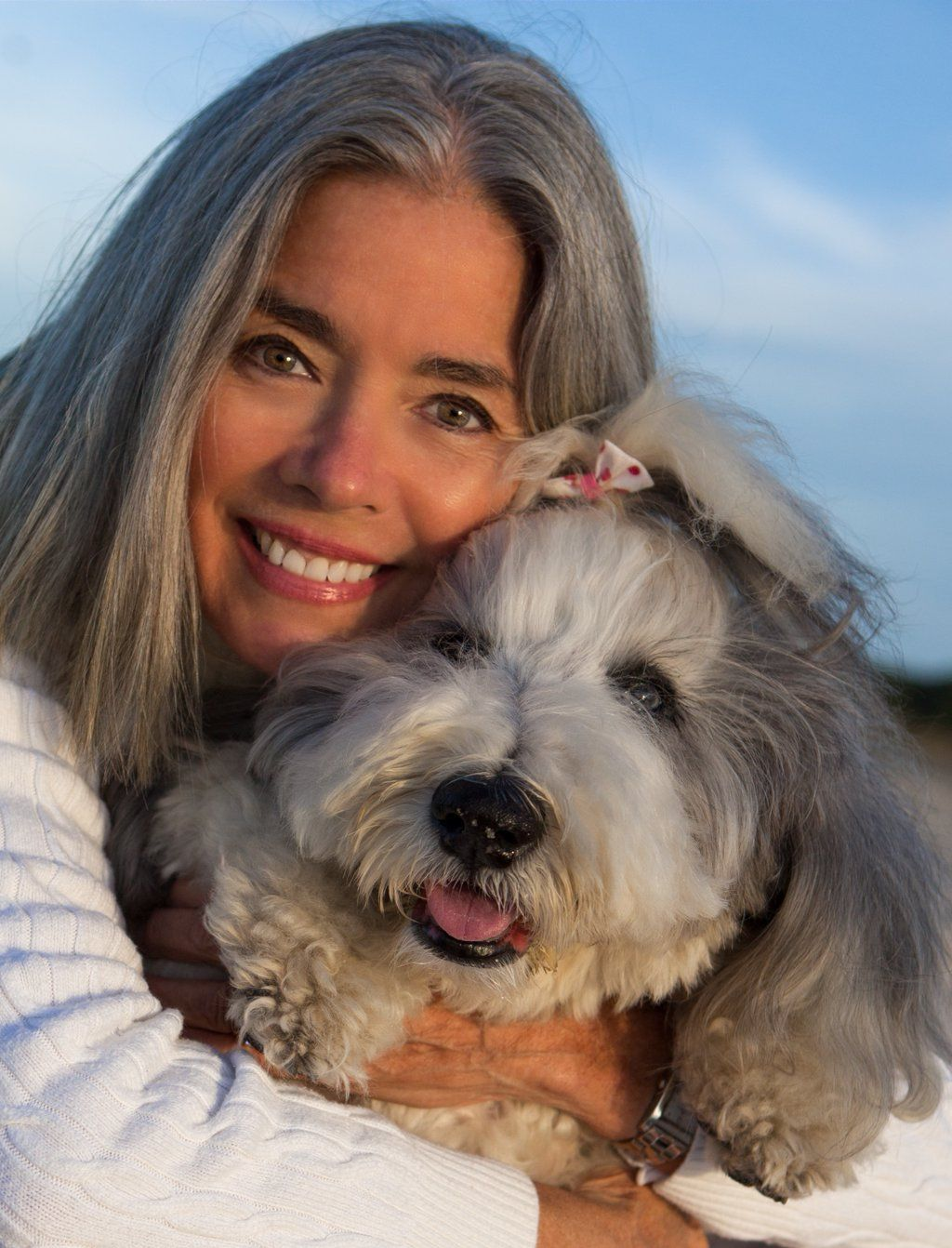 Susan mcgraw and her certified pet therapy dog maizie marbles a susan mcgraw and her certified pet therapy dog maizie marbles a bearded collie 1betcityfo Image collections