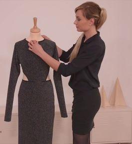 Tutoriel DIY: Coudre une robe de soirée à manches longues via DaWanda.com <3 #vidéo #couture #DIY