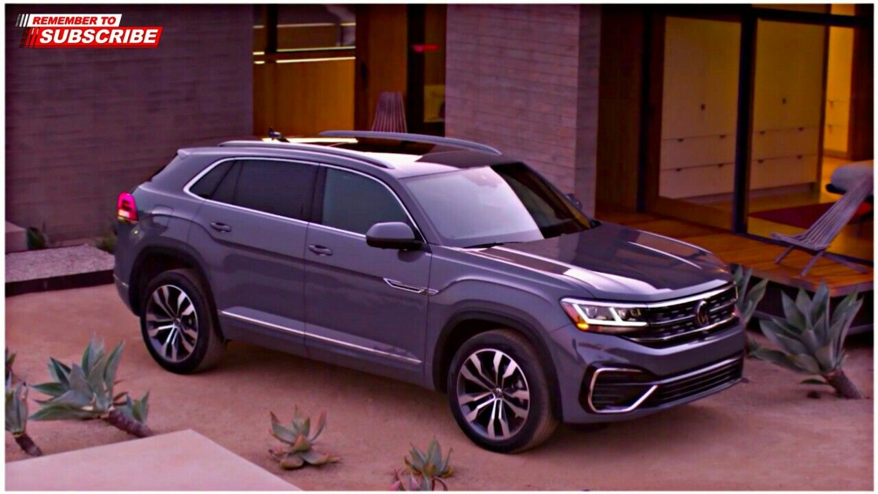 The Volkswagen Atlas Cross Sport with available digital