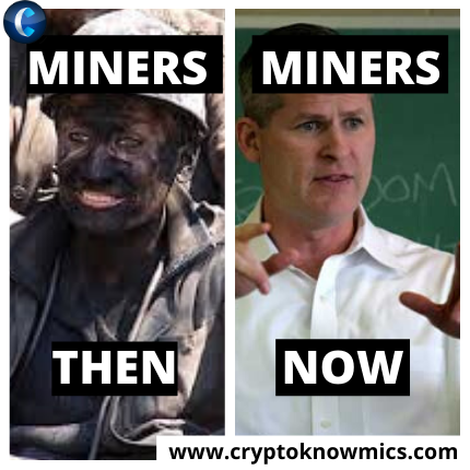 Miners Then V S Miners Now Memes News Today Cryptocurrency