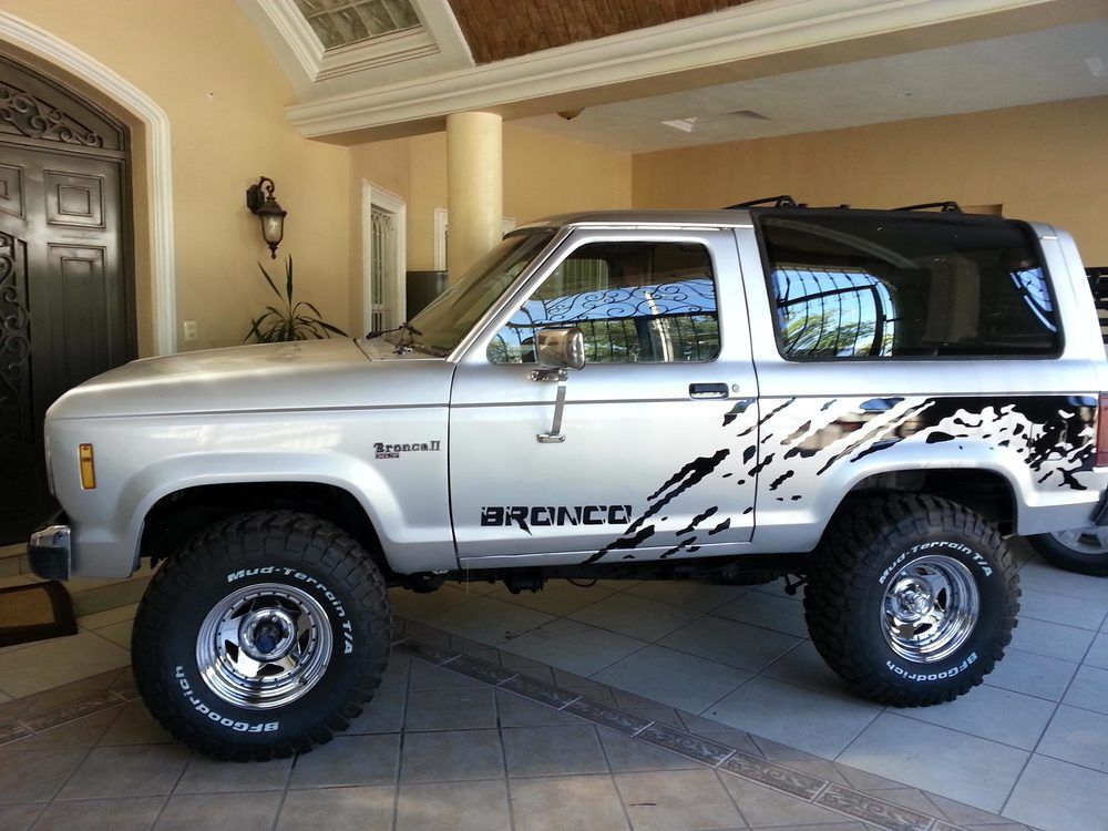 This Is My 1988 Ford Bronco Ii When I Bought It It Was Almost Useless My Friends Told Me That I Was Crazy But Ford Bronco Ford Bronco Ii Lifted Ford Trucks