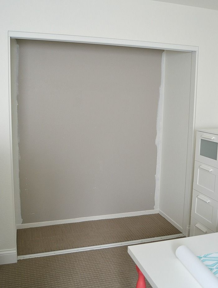 Ikea hack how to turn a standard closet into a built in for Ikea dresser in closet