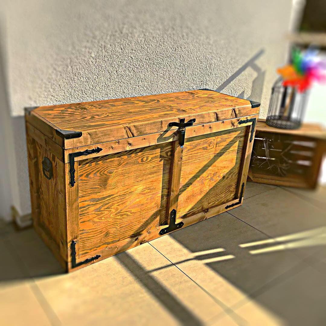 Dekorative Auflagenbox Aus Holz Auflagenbox Dekorative Holzkisten