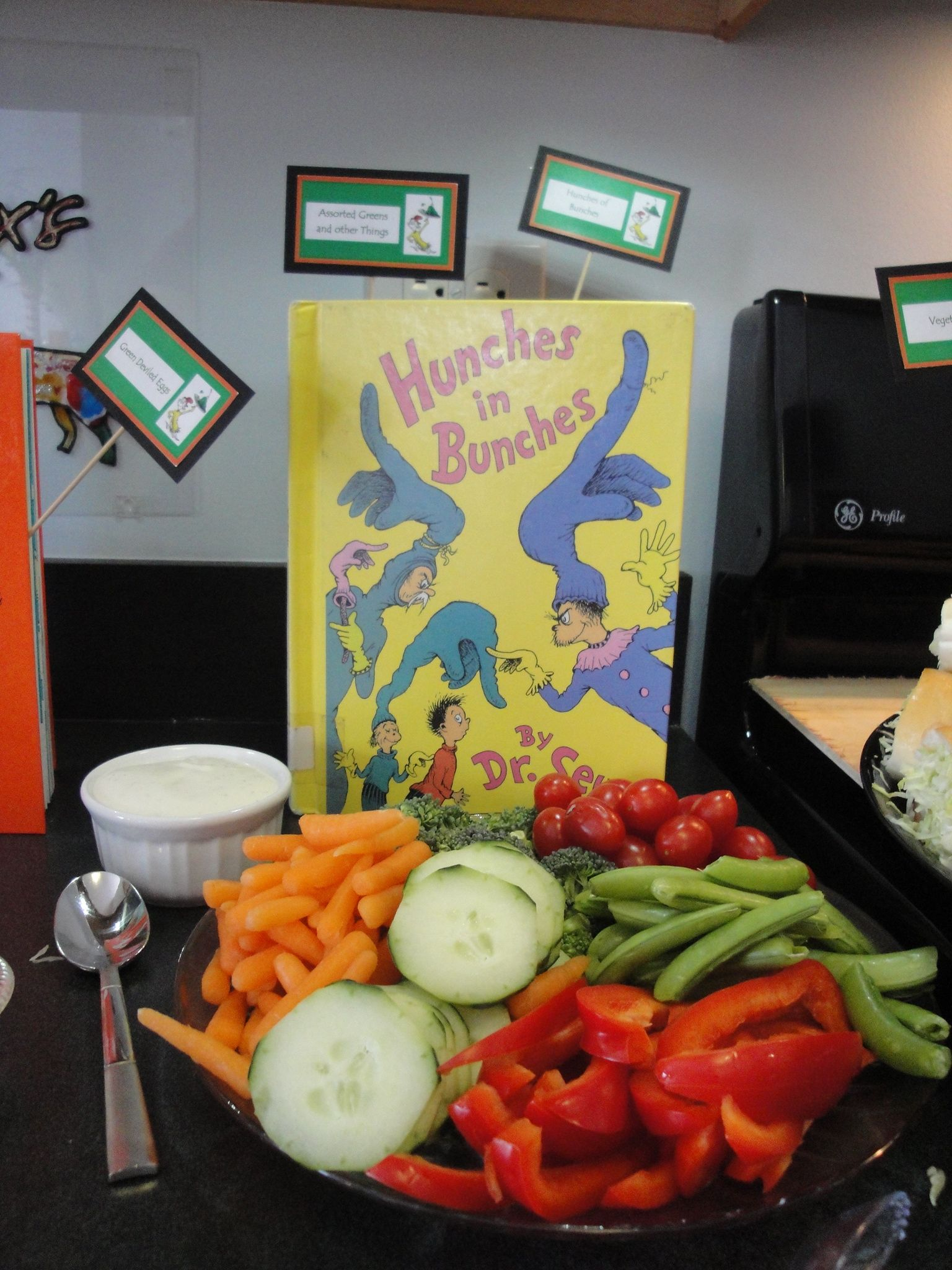 Veggie Platter: Hunches of Bunches