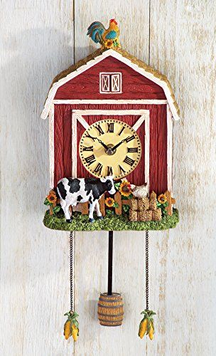 Country barn wall clock collections etc http www amazon com