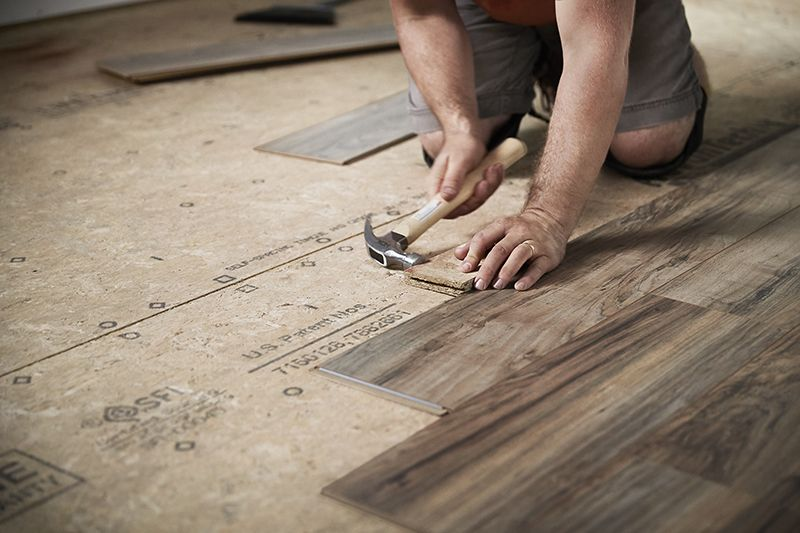 How To Install Laminate Flooring Inspiration For Home Pinterest