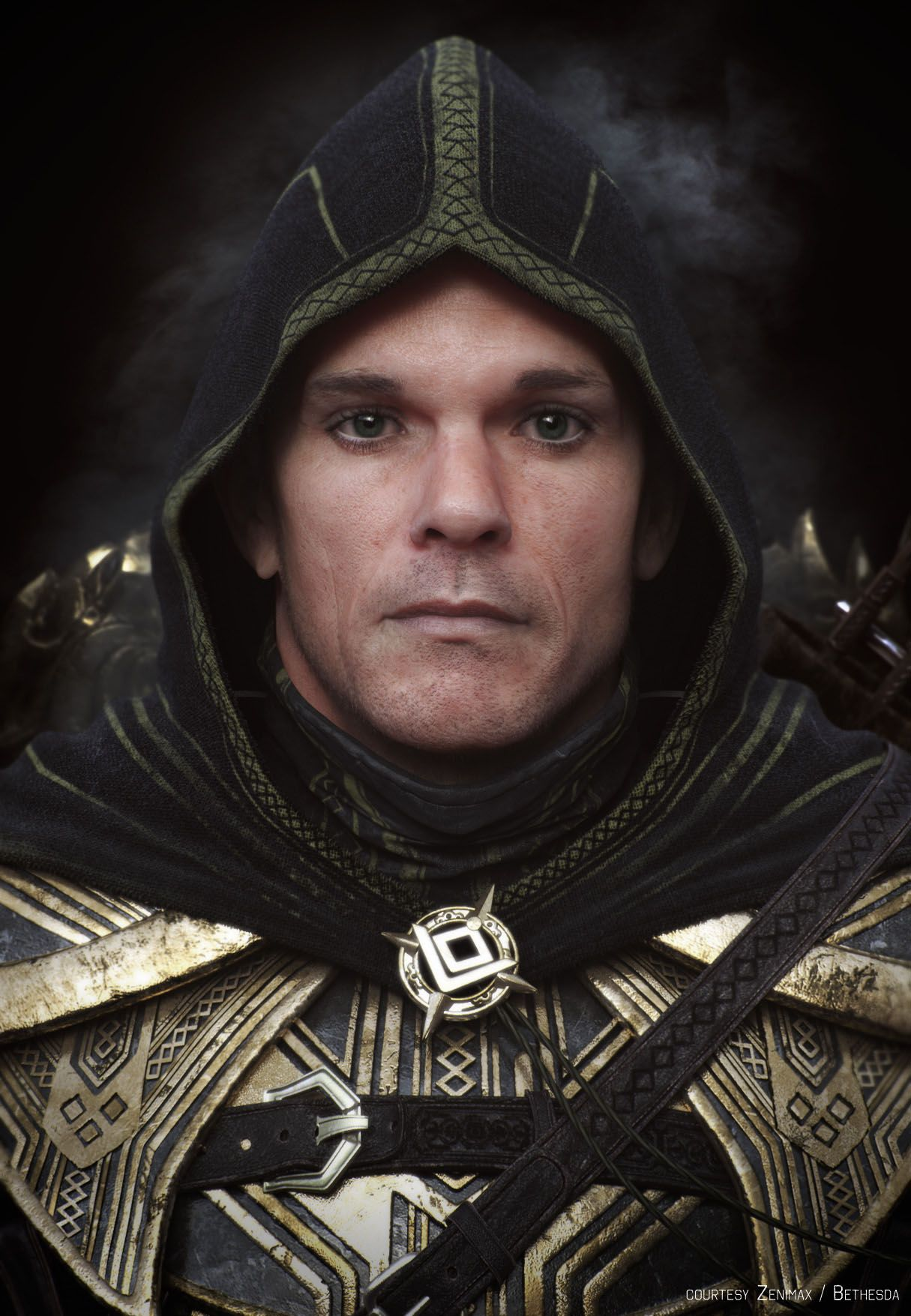 A Breton Knight From The Cinematic Trailer For Elder Scrolls