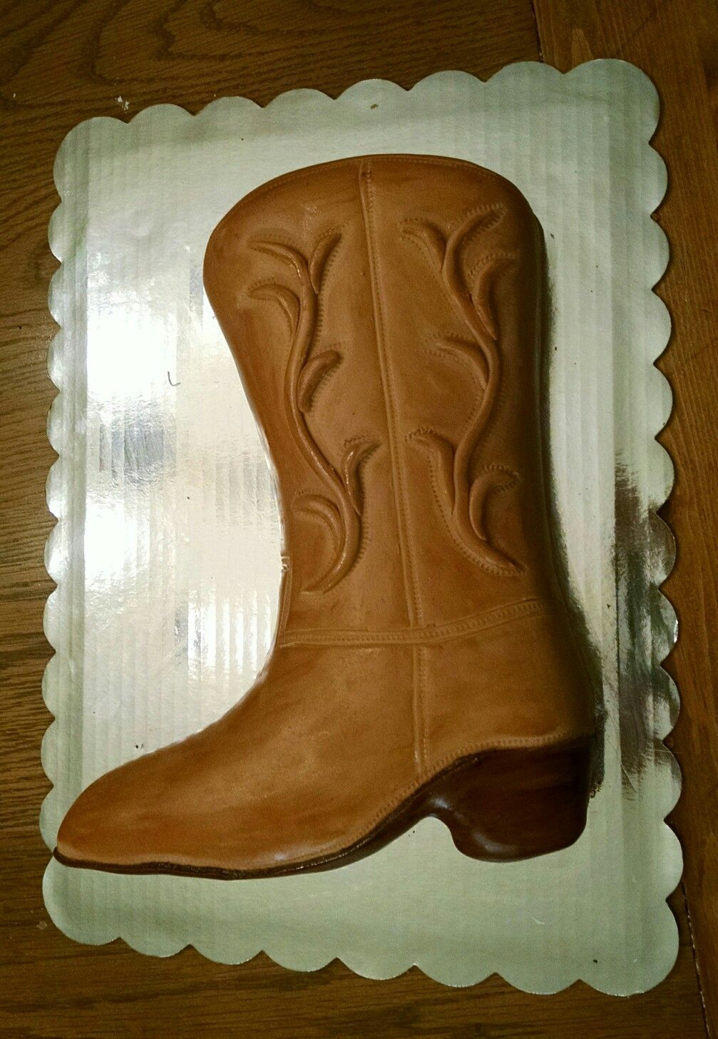 Cowboy Boot Cake With Images Cowboy Boot Cake Cowboy Cakes